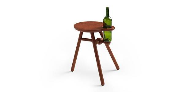 Pode Bottle Stool